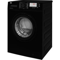 BEKO WTG741M1B 7 kg 1400 Spin Washing Machine - Black, Black
