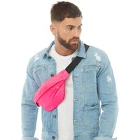 Original Penguin Mens Bowen Bum Bag Neon Pink