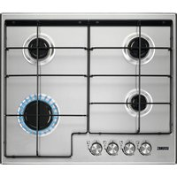 ZANUSSI ZGH65414XB Gas Hob - Stainless Steel, Stainless Steel