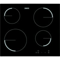 ZANUSSI ZEV6240FBA Electric Ceramic Hob - Black, Black