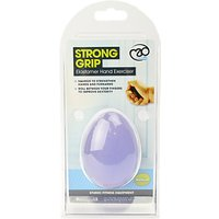 Fitness-Mad Hand Exerciser Rubber Egg, Purple
