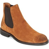 Selected  BAXTER CHELSEA SUEDE BOOT  men's Mid Boots in Brown