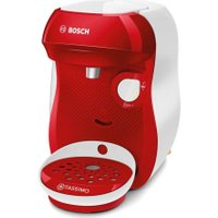 TASSIMO by Bosch Happy TAS1006GB Coffee Machine - Red & White, Red