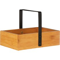 House by John Lewis Bamboo Storage Caddy