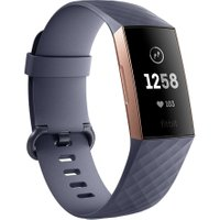 FITBIT Charge 3 - Blue Grey & Rose Gold, Universal, Blue