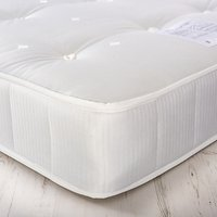 House by John Lewis Rest Three Open Coil Mattress, Medium Tension, Single