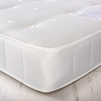 House by John Lewis Rest Three Open Coil Mattress, Medium Tension, Small Double