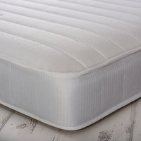 House by John Lewis Nod Two Open Memory Mattress, Medium Tension, Double