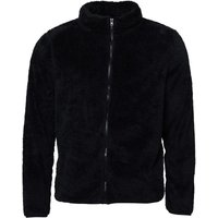 Fluid Mens Zip Through Borg Fleece Black