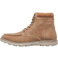 Mad Wax Mens Lace up Boots Brown