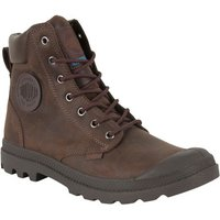 Palladium  Men's Pampa Cuff WP LUX Boots, Brown  men's Shoes (High-top Trainers) in Brown