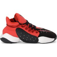 Y-3  BYW Bball red neoprene and black suede sneaker  men's Shoes (Trainers) in Other