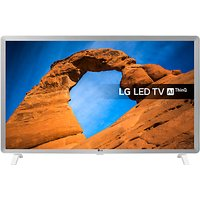 LG 32LK6200PLA LED HDR Full HD 1080p Smart TV, 32 with Freeview Play/Freesat HD, White & Grey