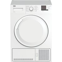 Beko DTGC8101W Tumble Dryer, 8kg Load, B Energy Rating, White