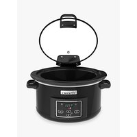 Crock-Pot CSC052 Lift & Serve 4.7L Digital Slow Cooker, Black
