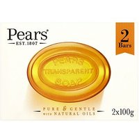 Pears Amber Soap 2 x 100g