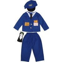 Postman Pat Kids Fancy Dress Costume Blue
