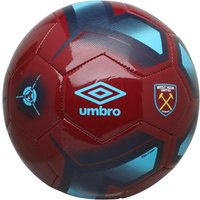 Umbro WHU West Ham United Neo Trainer Football White/Claret/Bluefish