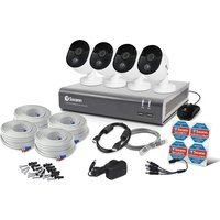SWANN SWDVK-845804V 8-Channel Full HD 1080p Smart Security System - 1 TB, 4 Cameras