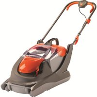 FLYMO UltraGlide Corded Hover Lawn Mower - Orange & Grey, Orange