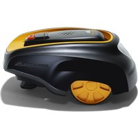 MCCULLOCH ROB R600 Cordless Robot Lawn Mower - Black & Yellow, Black