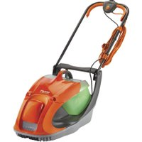 FLYMO Glider 330 Corded Hover Lawn Mower - Orange & Grey, Orange