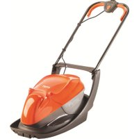 FLYMO Easi Glide 300 Corded Hover Lawn Mower - Orange & Grey, Orange