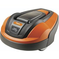 FLYMO 1200R Robot Lawn Mower - Orange & Grey, Orange
