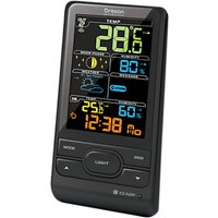 Oregon Scientific Colour LCD Advance Weather Station Clock, Black