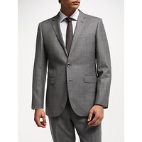 John Lewis & Partners Zegna Check Suit Jacket, Grey