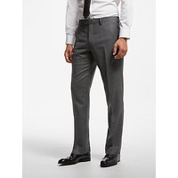 John Lewis & Partners Zegna Check Suit Trousers, Grey