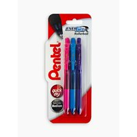 Pentel XBL107/3-PSV EnerGel Gel Pen, Set of 3