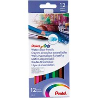 Pentel Watercolour Pencils, 12 Piece Set