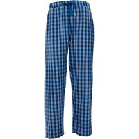 Fluid Mens Woven Check PJ Pants Charcoal/Blue