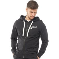 JACK AND JONES Originals Mens Mills Zip Through Hoody Premium Black