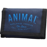 Animal Mens Ambush Polyester 3 Leaf Wallet Dark Navy
