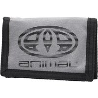 Animal Mens Vexation Polyester 3 Leaf Wallet Grey