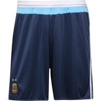 adidas Mens AFA Argentina Away Shorts Night Marine/White