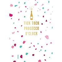 Woodmansterne Prosecco Time Birthday Card
