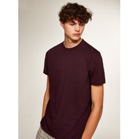 Mens Red Burgundy Classic T-Shirt, Red