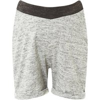 Womens **Maternity Grey Brushed Shorts- Grey, Grey