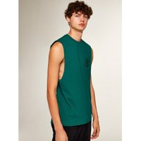Mens Green 'No Problem' Vest, Green
