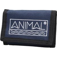 Animal Mens Sidetrack Polyester 3 Leaf Wallet Dark Navy