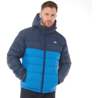 Trespass Mens Oskar Padded Hooded Jacket Navy/Blue