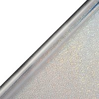 John Lewis & Partners Moonstone Textured Holographic Gift Wrap, 3m