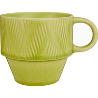 John Lewis & Partners Crackle Glaze Stoneware Stackable Mug, 400ml