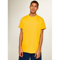 Mens Yellow Oversized Roller T-Shirt, Yellow