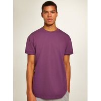 Mens Purple Oversized Roller T-Shirt, Purple