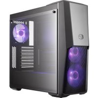 COOLERMASTER MasterBox Q300P Micro-ATX Full Tower PC Case, Grey