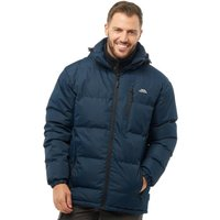 Trespass Mens Clip Padded Hooded Jacket Navy